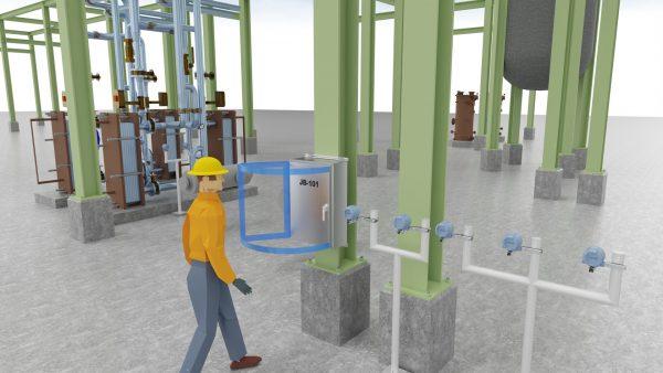 3D demo plant