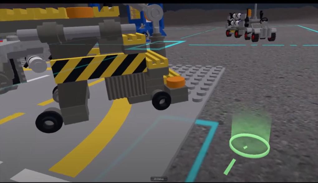 Building blocks 3D viewer