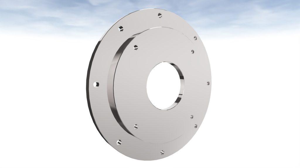 Adaptor plate 3D design